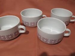 4 db retro Alföldi bögre, csésze