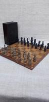 Antik sakk készlet