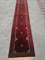 Kézi csomózású afgán baluch szőnyeg.Futószőnyeg Szép állapot!!!