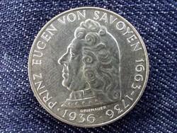 Ausztria, Prince Eugen of Savoyen halálának 200. évfordulója ezüst (.640) 2 Schilling 1936/id 9567/