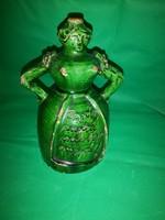 Alakos butella XIX század 19,5 cm
