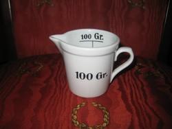 Zsolnay  patika edény 85 x 70  mm , 100 gr- os