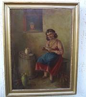 Szász István festmény  Eredeti. olaj vászon Garanciával 1 ft ról