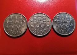 Portugál - 5 escudos - 1983 - 1984 - 1986