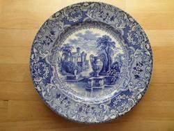 Antik fajansz Nowotny & Co Altrohlau Karlsbad tányér 23 cm
