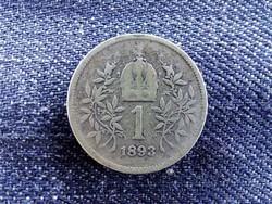 Ezüst 1 Corona 1893 (id9155)