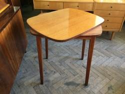 Régi retro asztal forgatható asztallappal
