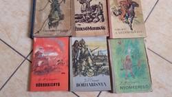 Karl May könyvei eladó!Utolsó mohikán, Medveölő fiai,Bőrharisnya, Nyomkereső
