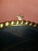 Sárgaréz tükör-, vagy képkeret