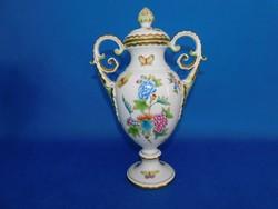 Herendi Viktória urna  Váza középső méretű