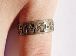 Ges. Gesch gyártó, 1914-1916 réz gyűrű