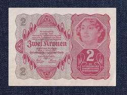 Osztrák 2 korona 1922 hajtatlan/id 6557/