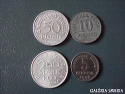 Német érmék