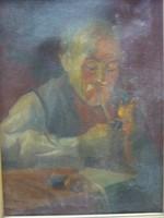 Horváth G. Andor - Öreg pipás