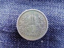 Ezüst 1 Corona 1893 (id9156)