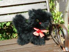 Fekete dekor cica mica - kandúr