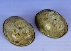 0F344 Antik húsvéti tojás alakú csokiöntő forma
