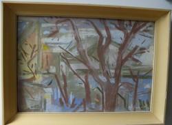 Nagybányai Nagy Zoltán, 55,5 x 40,5 cm,pasztel, karton képcsarnokos