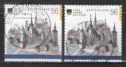 Pecsételt Német 0060 Mi  2232, 2245       5,00 Euró