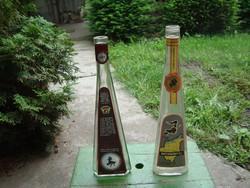 Boszorkánytej és Boszorkányvér boros üvegek