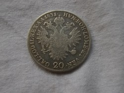 20 krajcár 1831
