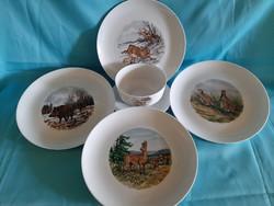 Eschenbach porcelán tányér szett 4 + 1