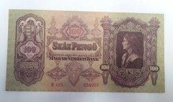 100 pengő 1930 aunc.