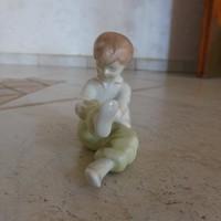 Aquincum tornász kislány figura