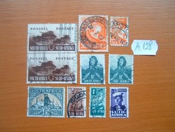 DÉL-AFRIKA SOUTH SUID VEGYES 10 DB A128