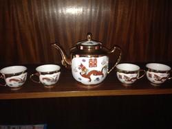 Kínai kávés/teás készlet