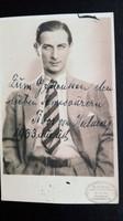 Halmay Tibor  dedikált képeslap, 1933, egy bécsi gyűjteményből.