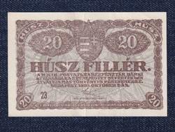 20 fillér 1920/id 9657/