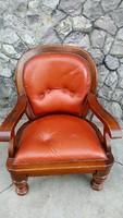 Rusztikus diofa fotel