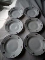 6 db Alba Iulia porcelán tányér mélytányér