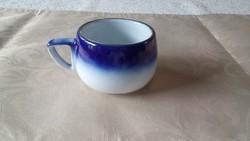 Kék-fehér kávés csészék
