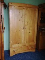 FENYŐ akasztós szekrény (pine hanging wardrobe )