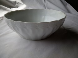 Porcelán pörköltes köretes tál