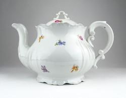 0X166 Régi hibátlan Zsolnay porcelán teáskanna