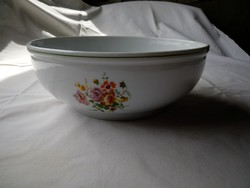 Porcelán levesestál pörköltes tál