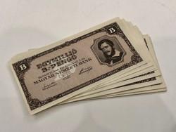 31db Egymillió Bilpengő 1946 bankjegy - UNC / EXTRA