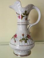 Sorszámozott lengyel antik / vintage porcelán váza