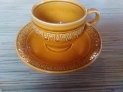 Olasz porcelán kávés csésze kistányéral