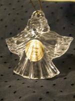 Felakasztható kristály angyal