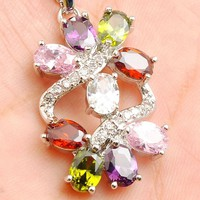 Kristaly Cirkonia Nyaklanc