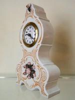 Jelzett antik / vintage porcelán óra