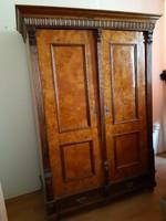 Antik  ónémet kétajtós ruhásszekrény