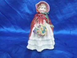 Antik ROYAL DOULTON vintage porcelán szobor