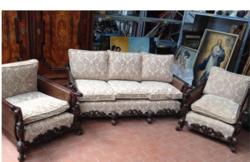 Barok stílusú ülőgarnitúra eladó
