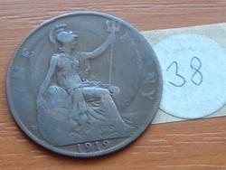 ANGLIA ANGOL 1 PENNY 1919  38.