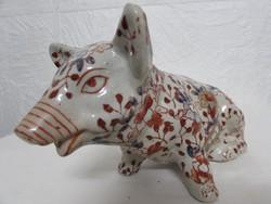 Antik Japan imari porcelan szobor